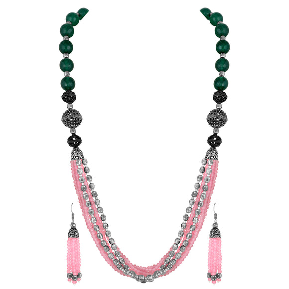 Asmitta Jewellery Zinc Jewel Set (Multicolor) -NS746