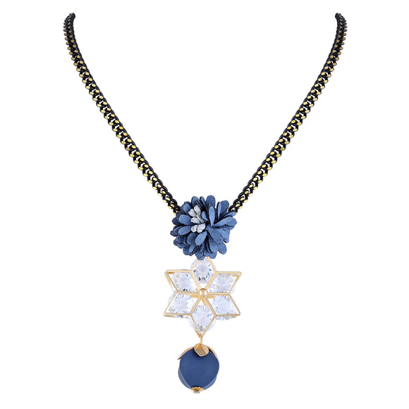 Asmitta Jewellery Gold Alloy Pendant - P146