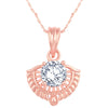 Asmitta Jewellery Rose Gold- Zinc Pendant  -P240