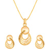 Asmitta Jewellery Zinc Jewel Set (Gold) -PS221