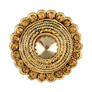 Asmitta Jewellery Zinc Gold  Ring  -R146
