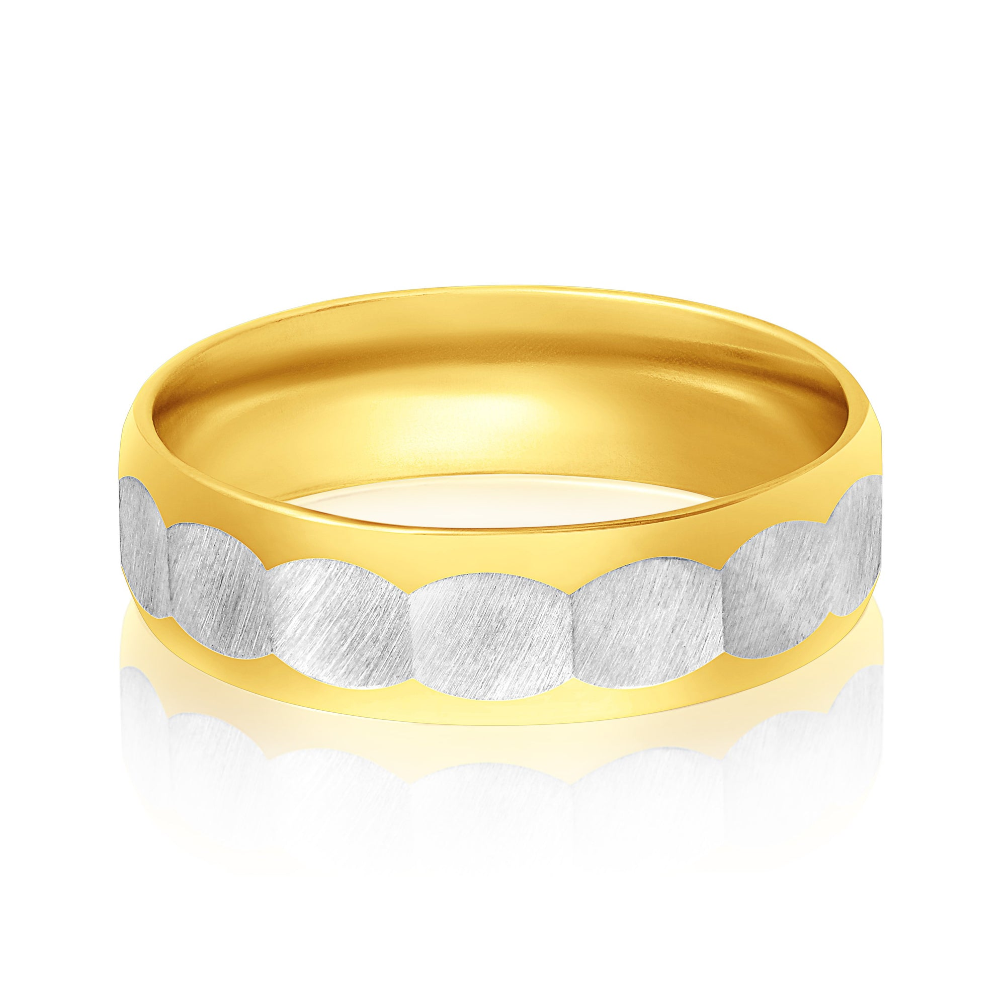 Asmitta Jewellery Two Finger Ring For Men -R153