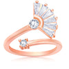 Asmitta Jewellery Rose Gold Ad  Finger Ring  -R162