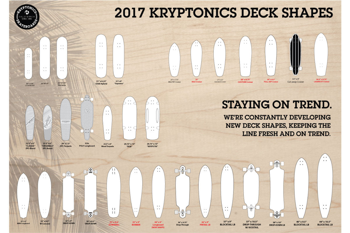 Kryptonics Decks