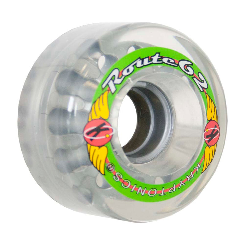"Kryptonics ""Route"" 62mm 78A Clear"