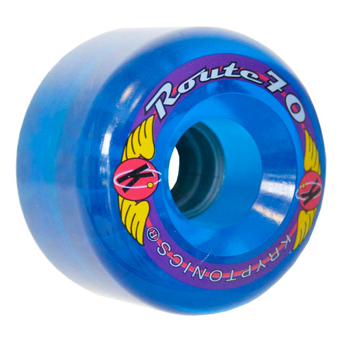 "Kryptonics ""Route"" 70mm 78A Trans blue"