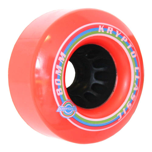 "Kryptonics ""Classic K"" 80mm 80A Red"