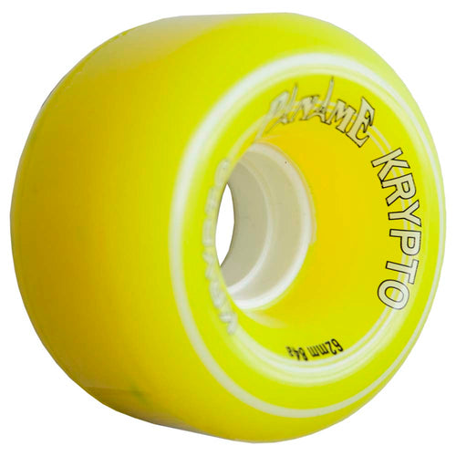 "Kryptonics ""Paname"" 62mm 84A  Yellow"