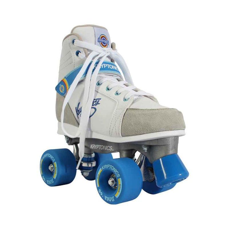 Kryptonics Skates - BLITZ White-Blue