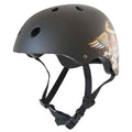 SACRED HEART HELMET MATT BLACK