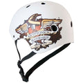 SACRED HEART HELMET MATT WHITE