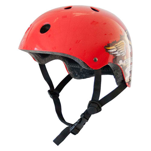 SACRED HEART HELMET GLOSS RED