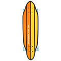 "37"" Pintail Longboard  - WEAVED"
