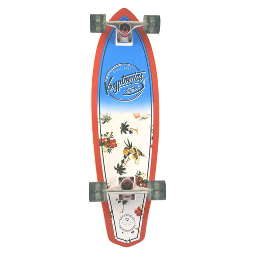 "32"" Mini Longboard- MAUI PATTERN"