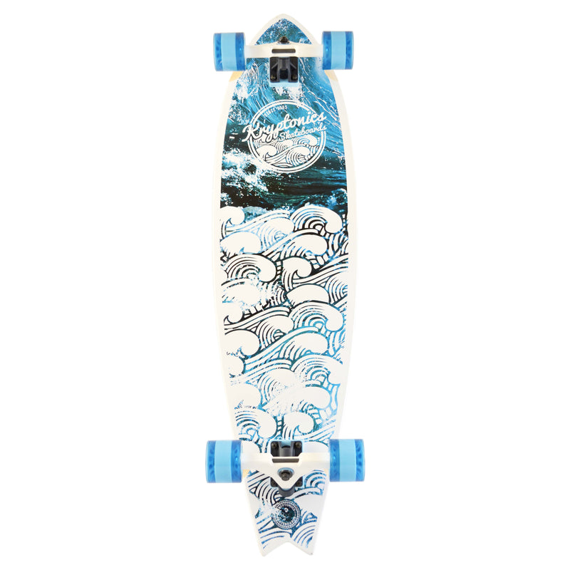 "40"" Pin-Fish Longboard-WEAVE ART"
