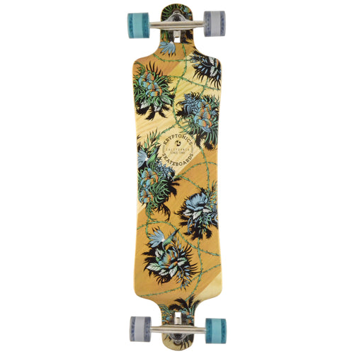 "38"" Drop Down Longboard- TROPIC VINES"