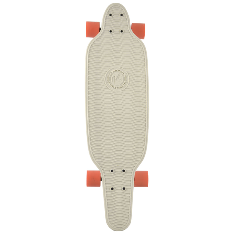 "32"" Polyboard Longboard- LIGHT GRAY"