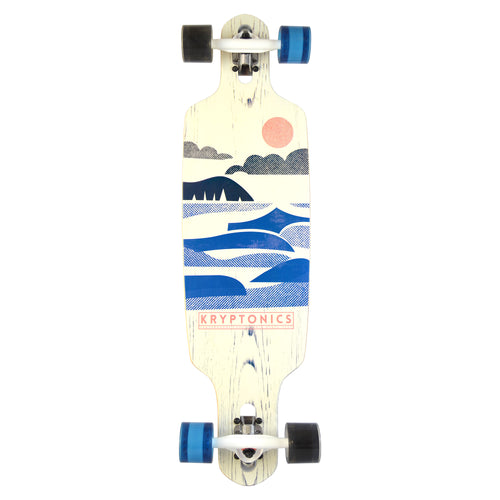 "36"" Drop Through Longboard- RETRO-SHORES"