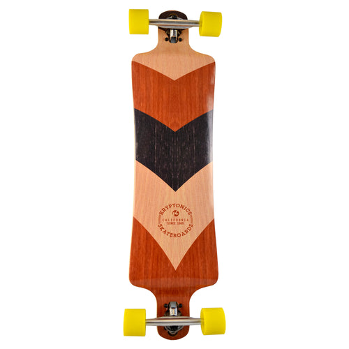 "39"" Drop Down Longboard-NATURAL-VIBE"