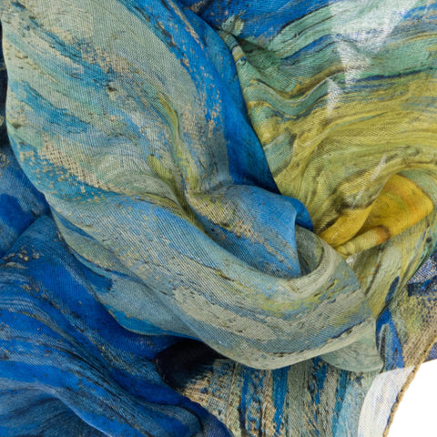 Starry Night Scarf -  Van Gogh - Vestilarte