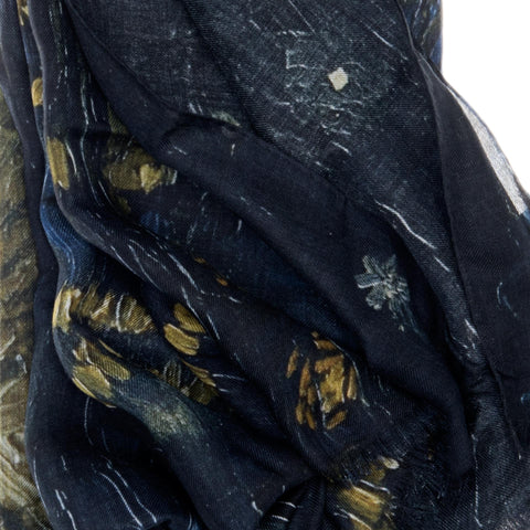 Starry Night Over the Rhone Scarf - Vincent Van Gogh - Vestilarte