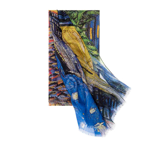 Café Terrace at Night Scarf - Vincent Van Gogh - Vestilarte