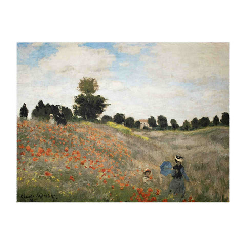 Poppies Scarf - Claude Monet - Vestilarte