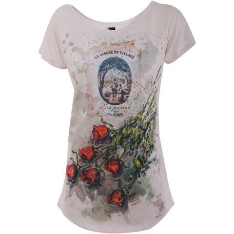 Rose T-shirt - Domenico Monteforte - Vestilarte
