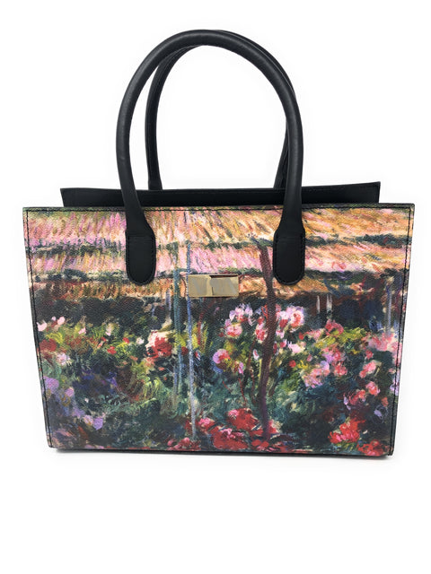 Peony Garden - Claude Monet Lady-Bag - Vestilarte