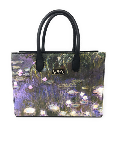 Water Lilies - Claude Monet Lady-Bag - Vestilarte