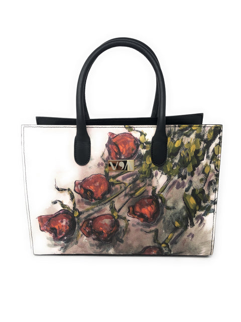 Rose - Domenico Monteforte Lady-Bag - Vestilarte