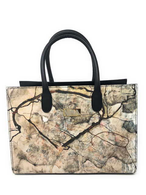 Autumn Tree In The Wind - Egon Schiele Lady-Bag - Vestilarte