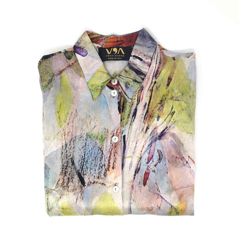 River At The Bridge Of Three Sources Shirt - Paul Cézanne - Vestilarte