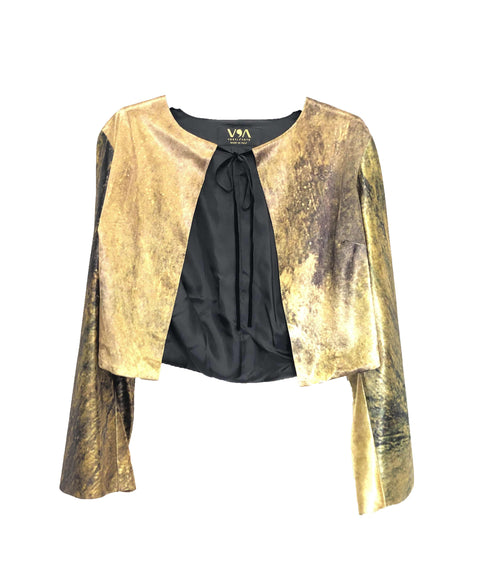 Snow Storm Bolero Blazer - William Turner - Vestilarte