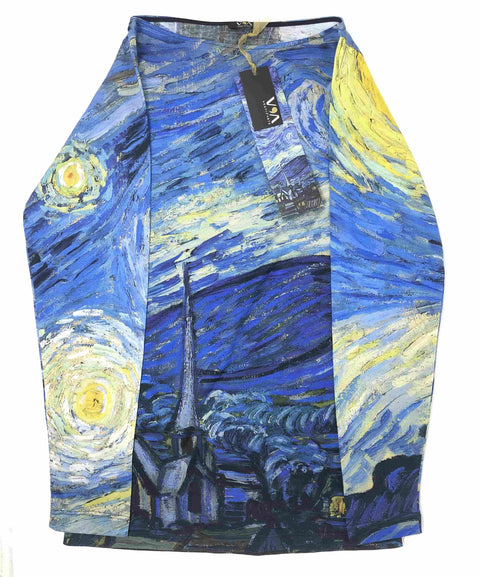 Starry Night Underjacket - Van Gogh - Vestilarte