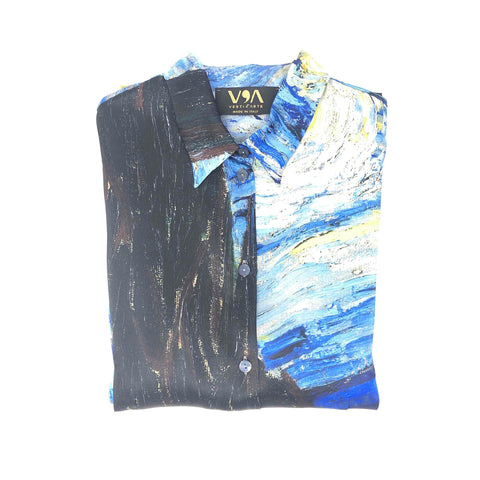 Starry Night Shirt - Vincent Van Gogh - Vestilarte