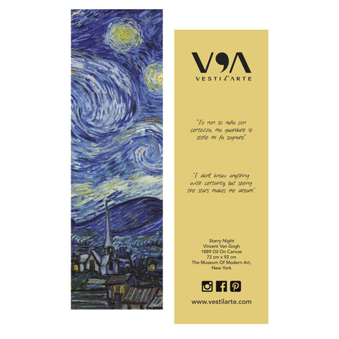 Starry Night Evening Dress - Vincent Van Gogh - Vestilarte