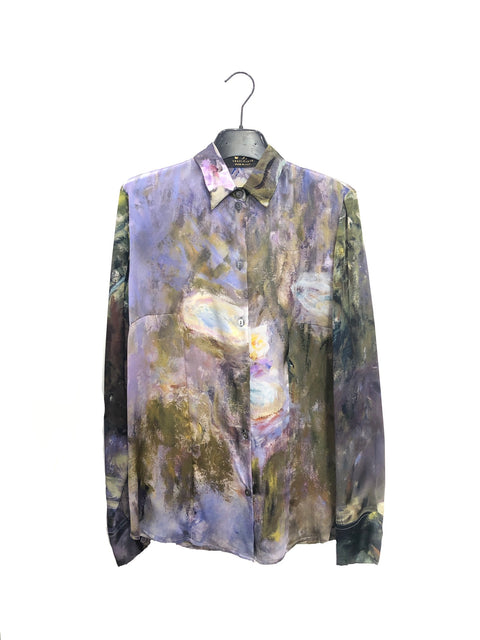 Water Lilies Shirt - Claude Monet - Vestilarte