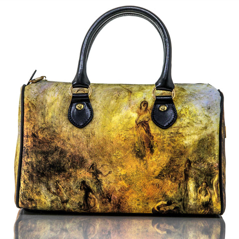 The Angel Standing in the Sun - William Turner Handbag - Vestilarte