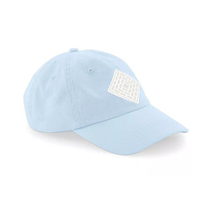 LOGO 6 PANEL CAP - BABY BLUE