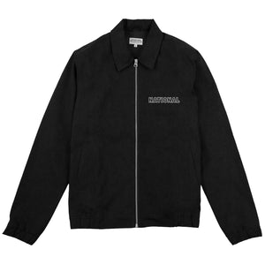 HARRINGTON JACKET - BLACK CORDUROY