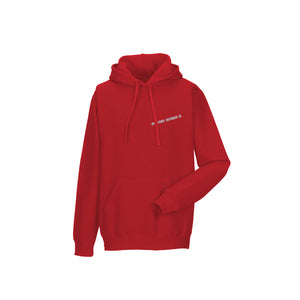 ATTITUDE HOODED SWEATSHIRT - RED