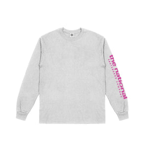 HOOK UP LONGSLEEVE T-SHIRT - HEATHER GREY