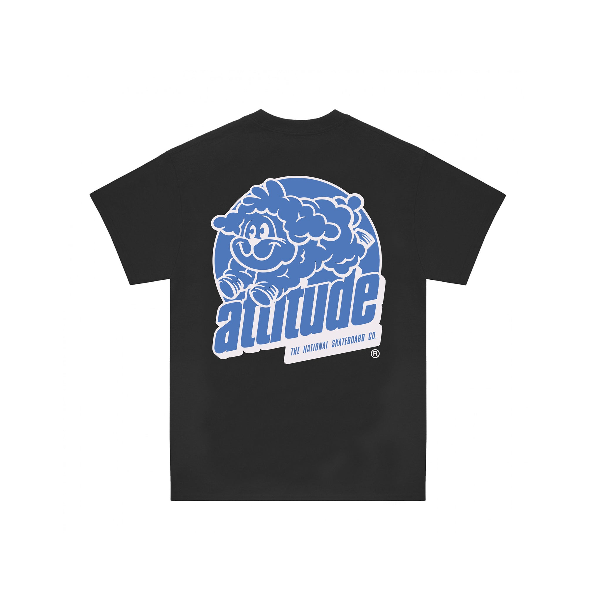 ATTITUDE SHORTSLEEVE T-SHIRT - BLACK