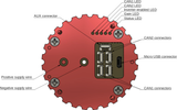 Komar motor controller - open-hardware reference design for Mitochondrik LV