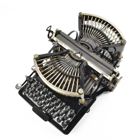 Rare Williams model 1 typewriter
