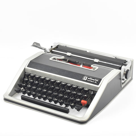 Olivetti Lettera DL used by Francis Ford Coppola to writer the GodFather Movie