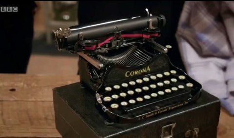 Corona 3 Typewriter restored on the Repair Shop BBC