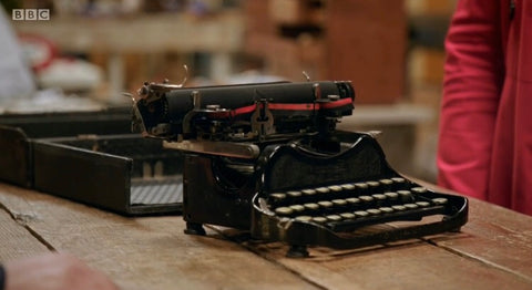Corona 3 Typewriter before restoration on the repair shop