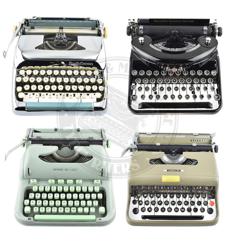 Typewriter Collection of David Rain or Tom Ardin